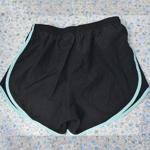 Nike Shorts - Nike Tempo Short Black and Light Blue Small